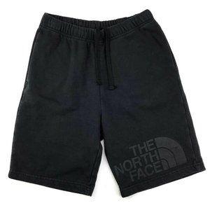The North Face Cotton Black Elastic Waist Shorts